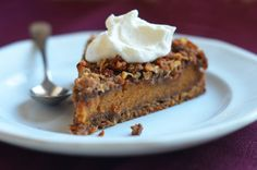 It's not Thanksgiving at my house without something pumpkin, so this unique torte is on the menu this year. With a tender pecan crust, pumpkin pie filling, and crunchy oat streusel topping, it's like a cross between pumpkin pie and coffee cake. I know it looks elaborate, but it takes only 30 minutes to put …