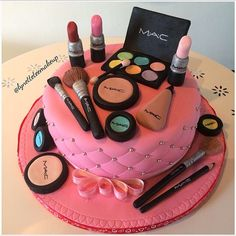 MAC Cosmetics cake - does this go in Makeup or Food!?