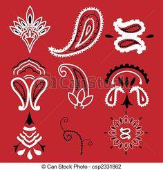 Vector Illustration of Bandana paisley - Nine elements commonly . Red Bandana Shoes, Bandana Nails, Bandana Dress, Bandanas, Bandana Tattoo, Bandana Print, Arte Do Hip Hop, Arte Cholo, Blood Wallpaper