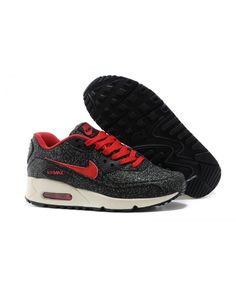 hot sales 372df aea8c Nike Air Max 90 Womens Sequins Black Red Running Shoe Sale UK Cheap Nike  Running Shoes
