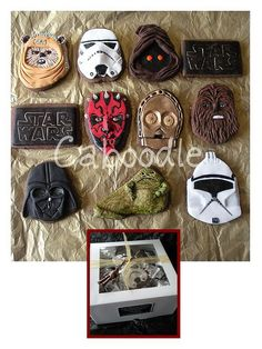 BEST Star Wars cookies ever!