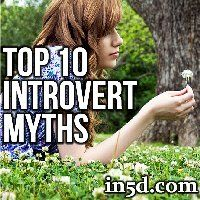 Although introverts only compromise 25% of the general population, the statistics are seemingly reversed within the spiritual and metaphysical genres.