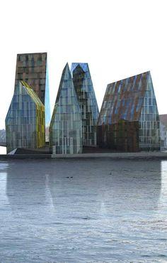 Krøyers Plads Copenhagen, Denmark by Erick van Egeraat Architects #architecture ☮k☮  https://www.pinterest.com/0bvuc9ca1gm03at/