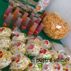 #Mesa de #dulce #fiesta #futbol #soccer #ideas