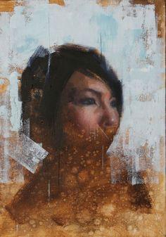 "The Edge of Realism | John Wentz | ""Alaskan Woman"""