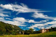 https://flic.kr/p/8Gc2ux | Cloud explosion | Village Podnanos and mountain Nanos in background; Slovenia
