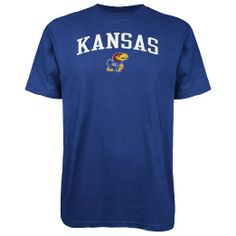 Amazon.com: NCAA Kansas Jayhawks Men's Big Game Day S/S Tee (Royal, Medium): Sports & Outdoors