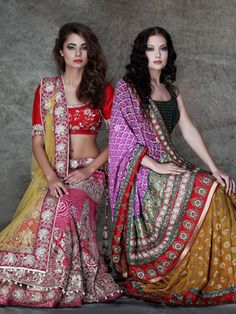 Contemporary Style, Traditional Couture | Asha & Gautam Gupta 2013 https://www.facebook.com/AshaAndGautamGupta