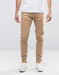 1e68b41e Discover the range of chinos and trousers for men with ASOS. Shop from  hundreds of different styles from skinny chinos to coloured trousers.
