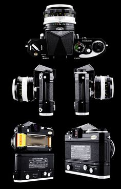 Nikon F-501 film camera body - Buscar con Google