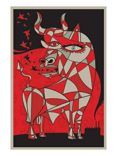 Picasso by Todd Slater. Print from Art.com, $49.99