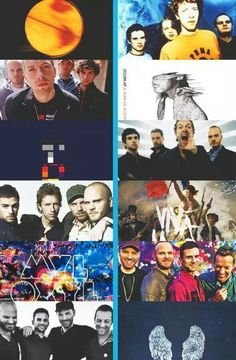 Coldplay through the years <3 <3