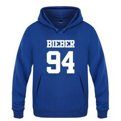 Hoodie Men Hip Hop Justin Bieber Printed Mens Hoodies Winter Fleece Long Sleeve Skate Men's Sweatshirt Tracksuit Man's Gown Hot  #Affiliate