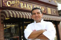 Cake Boss Buddy Valastro at his bakery Carlos Bakery in Hoboken, New Jersey.