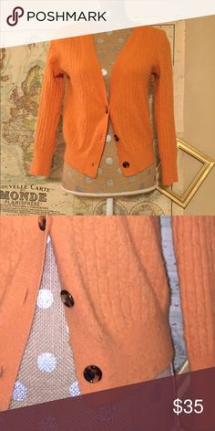 J.Crew Wool Cardigan Perfect for Fall, this cardigan is a must have! J. Crew Sweaters Cardigans