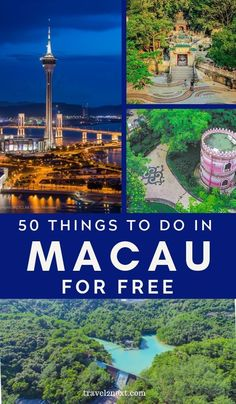 50 FREE things to do in Macau. Make sure to see the charming Chinese style pavilion (Bajiaoting Library) on the lower level of the garden as well as the small memorial building that resembles a pink wedding cake on the upper level during your visit. #macau #wowmacau #Travel #china #asia #freetravel #thingstodo
