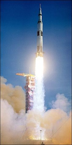 NASA Apollo 8 Saturn V Rocket Lift Off Photo Print for Sale