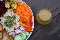 Copycat Dragon Bowl – Bol Dragon Imitation (Vegan with a Gluten-Free Option) Dragon Bowl, Vegan Restaurants, Copycat, Fresh Rolls, Tofu, Cobb Salad, Gluten Free, Cooking Recipes, Ethnic Recipes