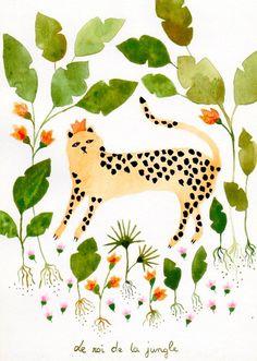 Sonia Cavallini. jungle ☆ http://www.soniacavallini.com/