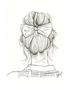 It was her favorite bow. She felt pretty fancy wearing it every time.