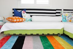 DIY Pallet Bed - gre