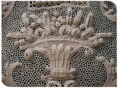 Orvieto lace - a form of crochet work