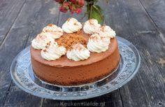 Chocolade cheesecake - Keuken <3 Liefde