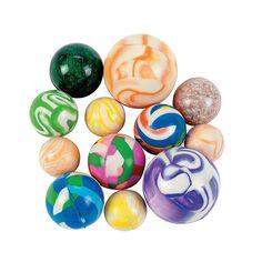 Bouncing Ball Assortment - 25 pcs. - OrientalTrading.com