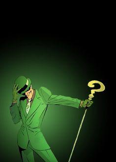 The Riddler! Best Batman villian EVER!!! Hope he makes an appearance  in the next batman movie!