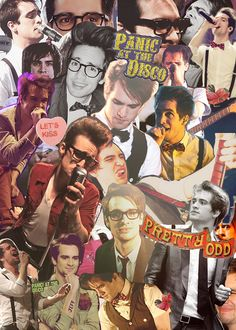 panic at the disco. brendon urie.