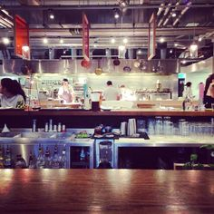 Grain Store in St Pancras: fantastic for brunch, the pancakes are the best in London! http://www.grainstore.com/