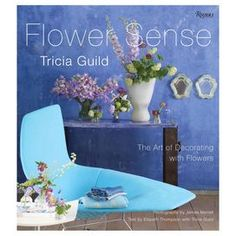"Bring stylish interest to your coffee table or powder room with this enthralling book, a guide to decorating with flowers from famed interior designer Tricia Guild.    Product: Book    Features: Written by Tricia Guild   Photography by James Merrell   Hardcover   162 Pages   Dimensions: 10.75"" H x 9.75"" W x 0.75"" D"