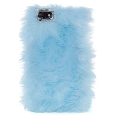 Who wouldn't want a fuzzy blue iPhone case? This one by Skinnydip London is soft to the touch and has an easy clip-on style. Time to cozy on up. Openings for t…