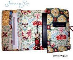 Diy back to school : DIY  Travel Wallet