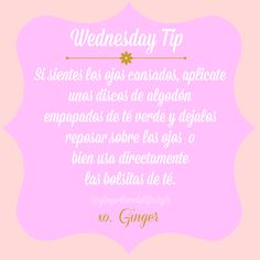 Ginger Lovely Lifestyle: Wednesday Tip