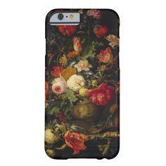Elegant Vintage Floral Vase iPhone 6 case