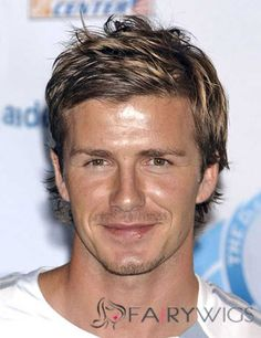 View yourself with David Beckham hairstyles and hair colors. View styling steps and see which David Beckham hairstyles suit you best. Long Face Hairstyles, Hairstyles Haircuts, Hairstyle Men, Mens Straight Hairstyles, Style Hairstyle, Casual Hairstyles, Funky Hairstyles, Celebrity Hairstyles, Wedding Hairstyles
