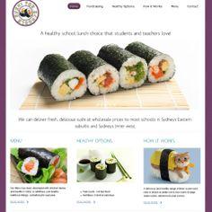 Sushi for Schools website