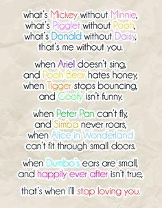 Disney love..