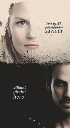Savior & Hero, still not a big fan of captain swan... Im still rooting for Swanfire!❤