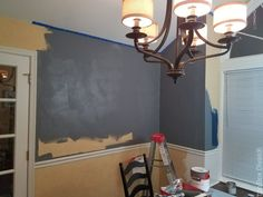 How to Install Picture Frame Moulding Wainscoting - ToolBox Divas Picture Frame Wainscoting, Wainscoting Height, Black Wainscoting, Wainscoting Kitchen, Painted Wainscoting, Dining Room Wainscoting, Wainscoting Panels, Picture Frame Molding, Picture Frames