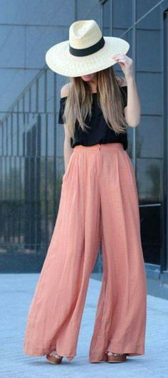 67 Ideas De Outfit Pantalon Holgado Pantalones Holgados Ropa Moda Para Mujer