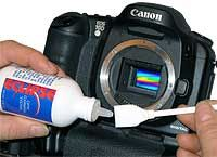 The Methods - Cleaning Digital Cameras - D-SLR Sensor Cleaning.