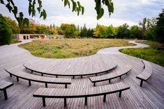 A+ Architecture: 10 Transformative Examples of Public Space Design - Architizer Journal Public Architecture, Landscape Architecture, Masterplan Architecture, Interior Architecture, Boston City Hall, Public Space Design, Public Spaces, Desert Environment, Glass Brick