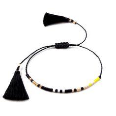 Diminutos abalorios pulsera amistad pulsera de semillas de Tassel Bracelet, Beaded Wrap Bracelets, Dainty Bracelets, Bohemian Bracelets, Seed Bead Bracelets, Layered Bracelets, Anklet Bracelet, Friendship Bracelets With Beads, Friendship Jewelry