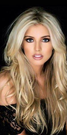 All Beautiful Women: Photo Blonde Beauty, Blonde Hair, Hair Beauty, Gorgeous Eyes, Gorgeous Women, Beautiful Women Tumblr, Stunningly Beautiful, Blonde Women, Hot Blondes