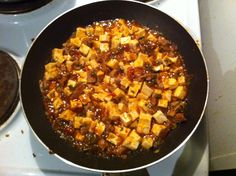 Mafo-tofu, Western-Chinese tofu cusine