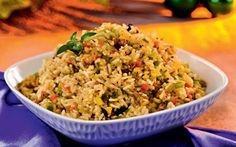 Arroz Navideño. Christmas Rice