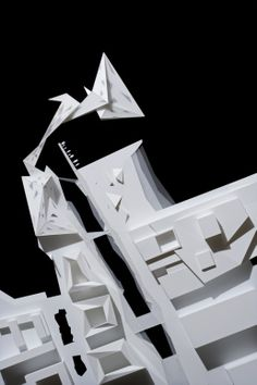 Architectural Model - Heneghan Peng Architects - Munch Museum & Stenersen Collections