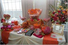 Candy buffet...